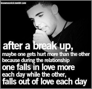 Best, cute, quotes, wise, sayings, break up, drake