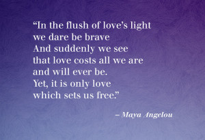 April 17, 2015 0 Popular Quotes From The Poems Of Maya Angelou