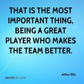 quotes about being a team