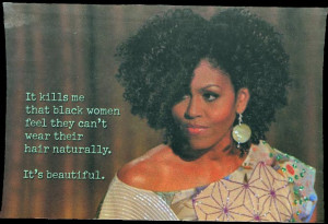 Michelle Obama....and I approve this message!