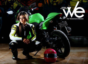Thread: India's first and ONLY woman superbike racer