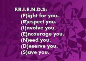 Friends Fight For You