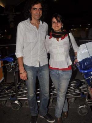 Imtiaz Ali: Filmmaker Imtiaz Ali was seen with wife Preety on their ...