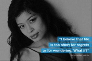 September quote to think about. By: Vanessa-Mae