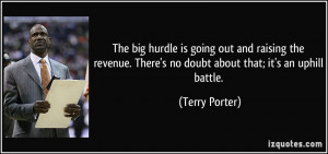 More Terry Porter Quotes