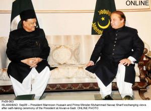 Mamnoon, Nawaz, Zardari discuss key national issues