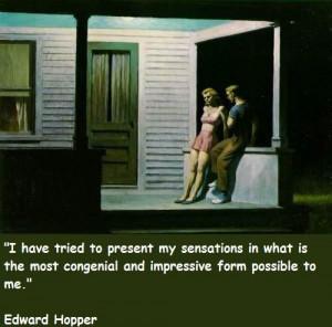 Edward hopper famous quotes 2