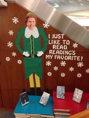 Buddy the elf, what's your favorite book?