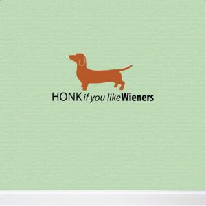 Dachshund Car Decal - Wiener dog decoration - Funny Dachshund Quote ...