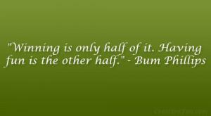 bum phillips quote