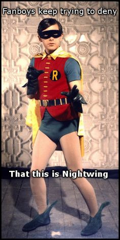 1960's Robin IS NIGHTWING - funny More