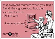Ignoring Texts