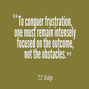 Frustrated Quotes