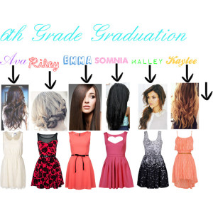 fashion graduation outfit 6th grade graduation created by ...