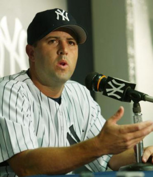 CORY LIDLE JOINS THE YANKEE STADIUM
