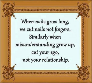 Quotes about when nails grow long