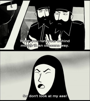 Check out Pete Brigette's review of Persepolis here: http ...