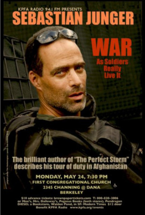 War by Sebastian J Unger