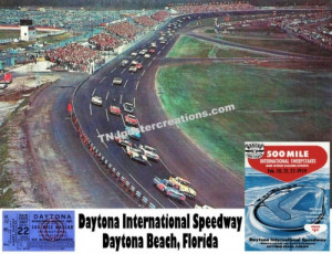 daytona daytona international speedway daytona beach florida posters