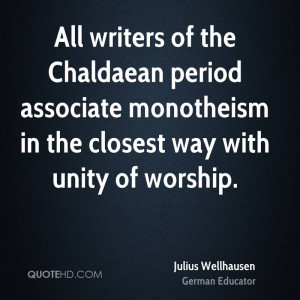 Julius Wellhausen Quotes