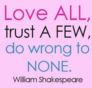 Famous shakespeare quotes on life love and friendship (5)