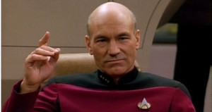 ... Trek: The Next Generation Captain Jean-Luc Picard ( Patrick Stewart