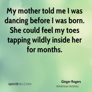 Ginger Rogers Quotes