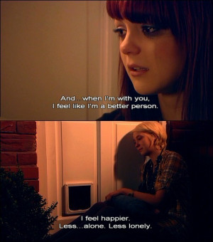 ... at 6PM / tagged: EMILY FITCH . Naomi Campbell . SKINS . / 635 notes