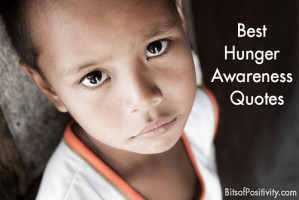 Best Hunger Awareness Quotes