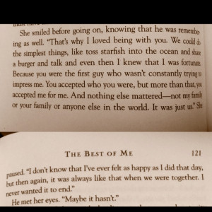 The Best Of Me Nicholas Sparks Quotes