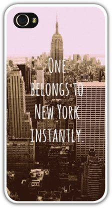 NYC iPhone Case New York Quote iPhone 4/4s by MiaBellaVitaPhoto. $40 ...