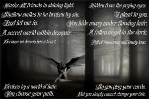 Fallen angel by Panzary