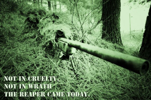 Usmc Sniper Quotes Sniper quote #1