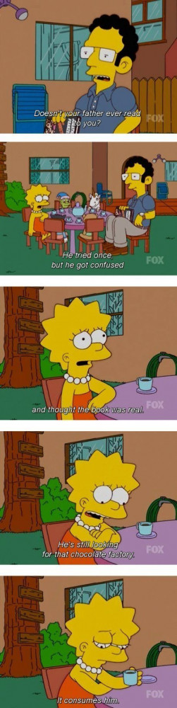 The best Simpsons quote
