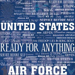 US Navy Scrapbook Paper