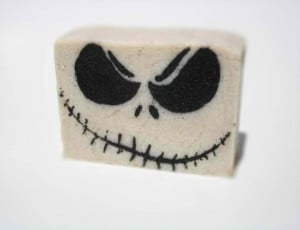 Jack Skellington soap