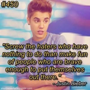 justin bieber quote · #quote
