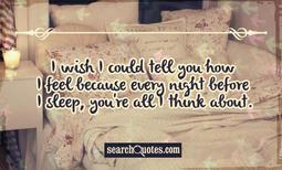 Secret Love Quotes for Him | Of Him Secret Crush Quotes | Thinking Of ...