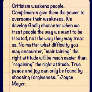 More like this: joyce meyer , forgiveness and coaches .