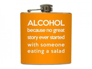 Alcohol Excuse Flask.. but true story.