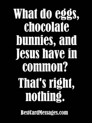 Funny Easter Saying