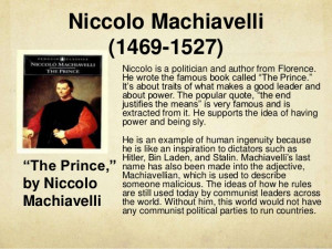 Niccolo Machiavelli The Art Of War Quotes Niccolo machiavelli the art