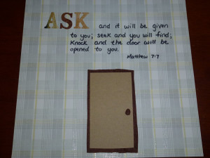 Bible Verse Scrapbook