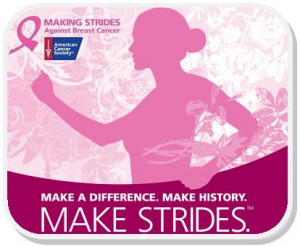 Kick off rally tomorrow for 'Making Strides against Breast Cancer'