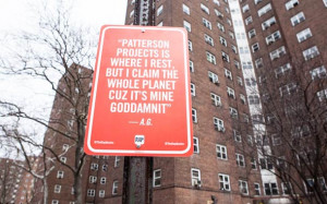 RAP QUOTES – New York and Localised Street Art