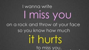 ... properly i just want this to end come back to me baby i miss you