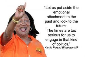 Memorable quote: Kamla Persad-Bissessar