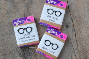 Nerdy Valentines (with free printable)