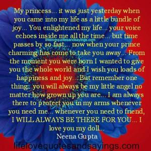 My Princess..