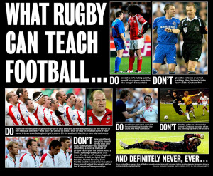 Rugby is capturing headlines again and football should not shyaway in ...